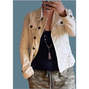 Cool twill off white jacket by Twill Twenty Two
